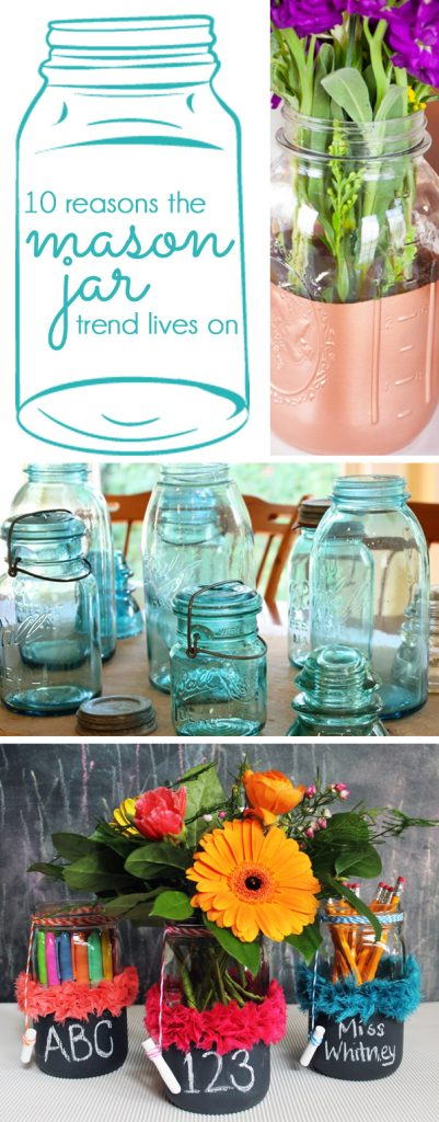 mason jar crafts mason jar upcycle