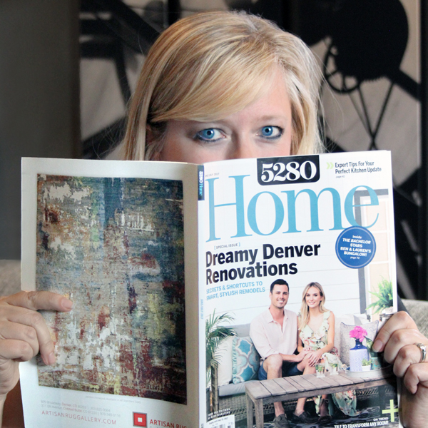I spy our home in 5280 Home Magazine
