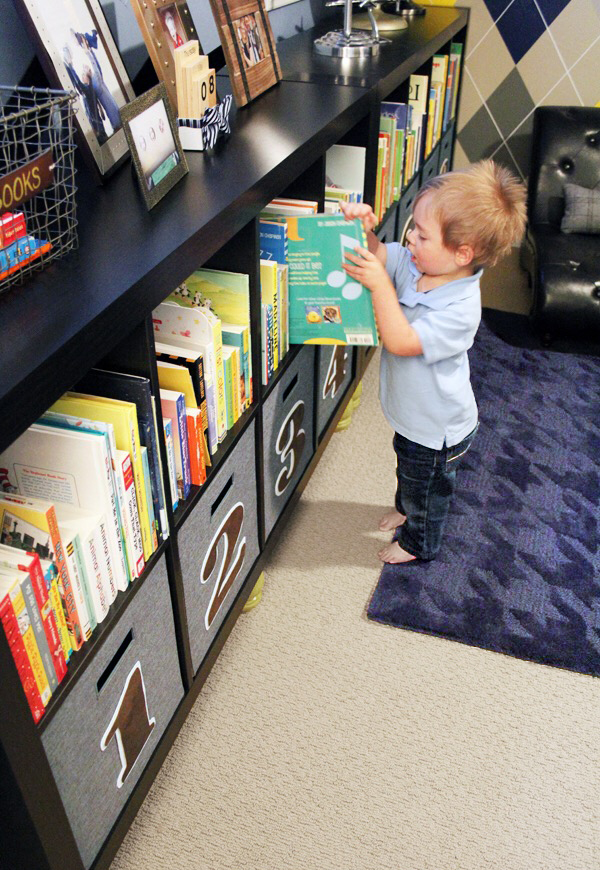 Keeping Books at Kids' Eye Level