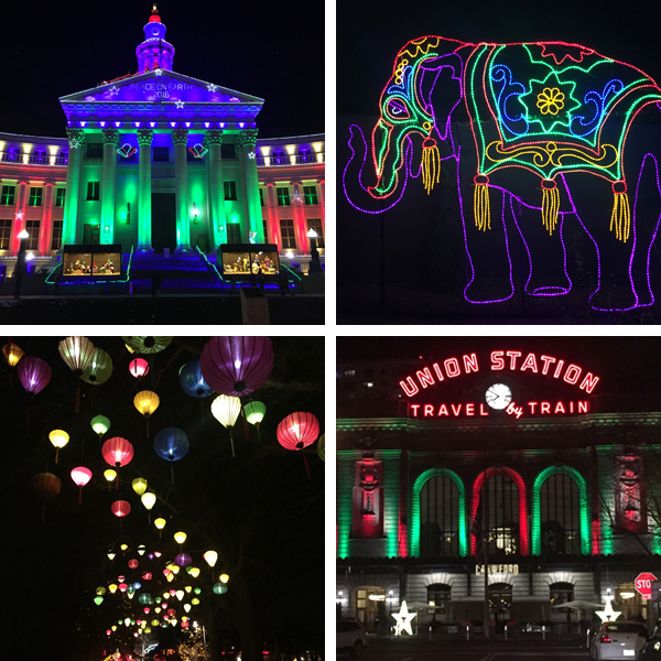 Denver Christmas light displays