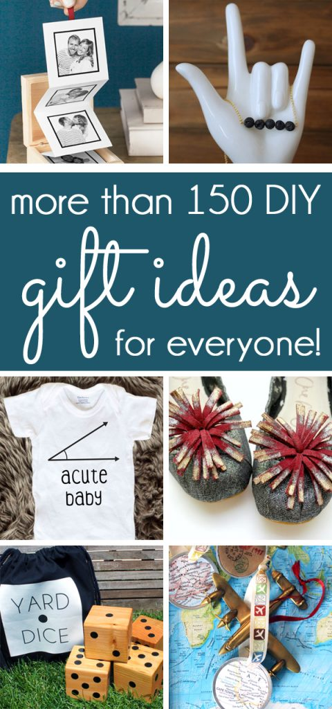 More than 150 DIY Gift Ideas