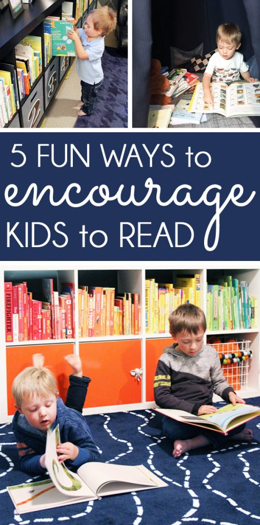 How to Encourage Kids to Read