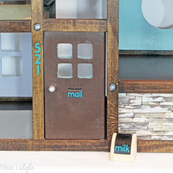 Cricut Dollhouse Makeover