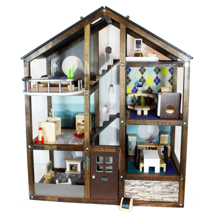 DIY Dollhouse Makeover - Blue i Style