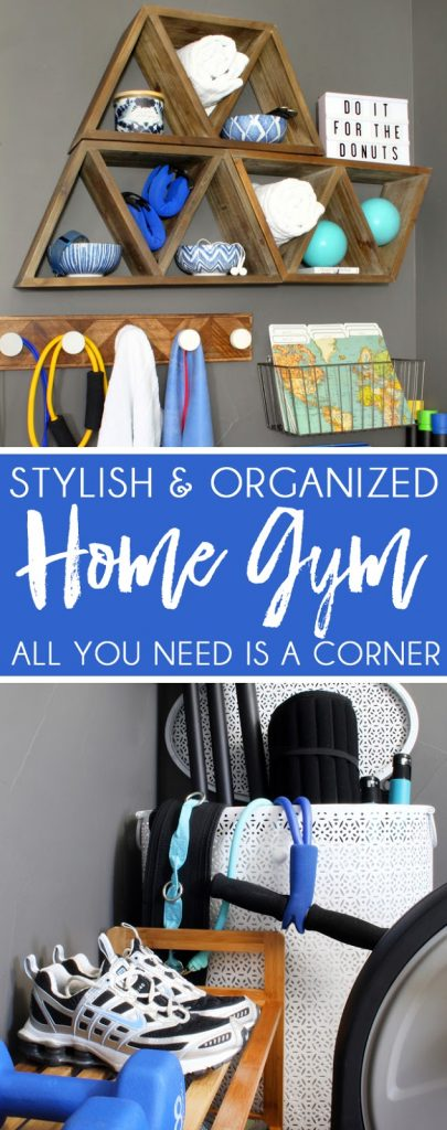 Stylish and Organized Home Gym Ideas Small Space