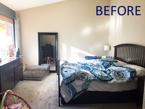 How To Redecorate A Bedroom Without Replacing The Furniture Blue