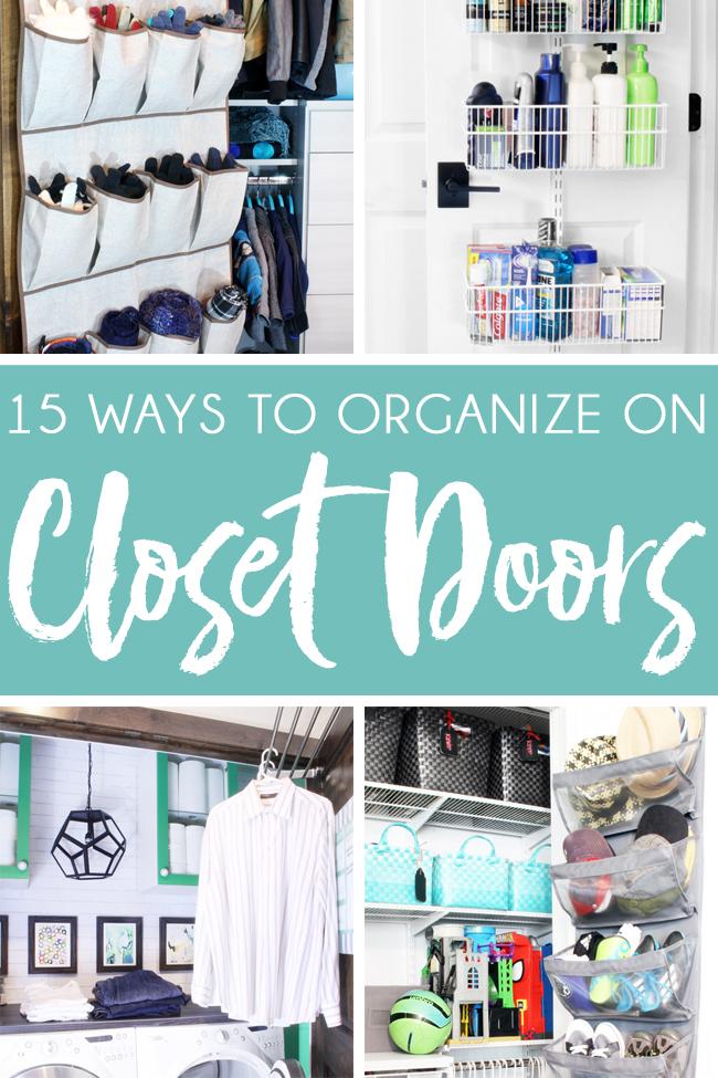 Organize on Back of Closet Door