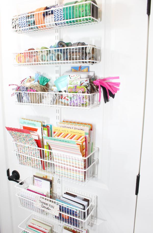 Storage With Over The Door Organizers