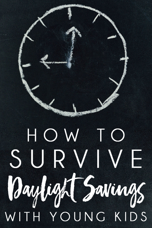 Survive the daylight savings time change with kids