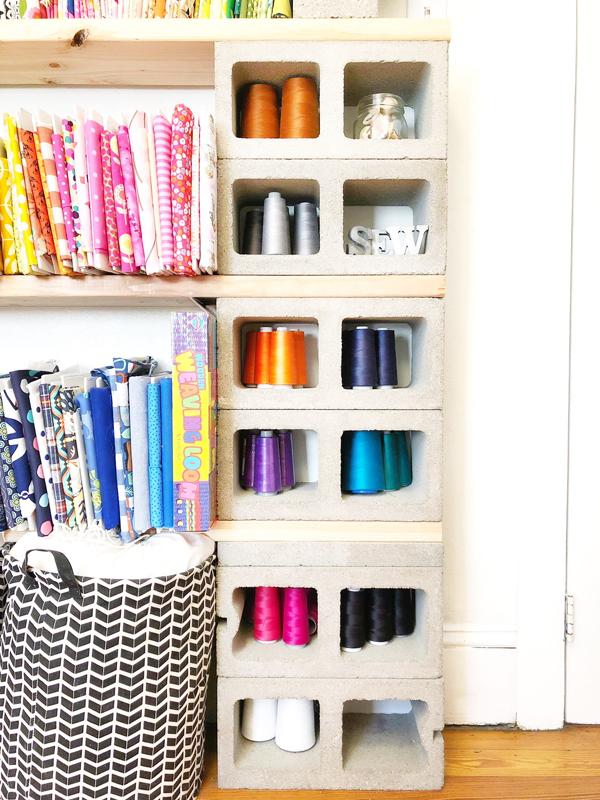 sewing room ideas - thread organizer