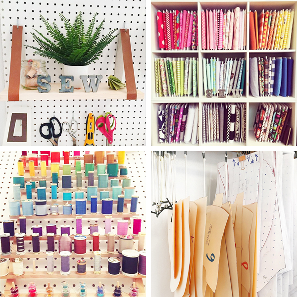 Budget Friendly Sewing Room Organization Ideas Blue I Style