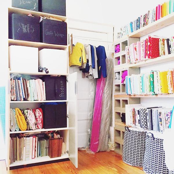 fabric organization ideas
