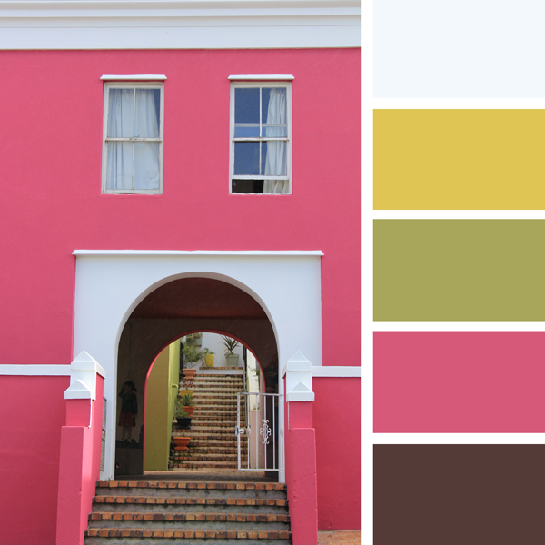 How to choose a color scheme decorating with bright pink