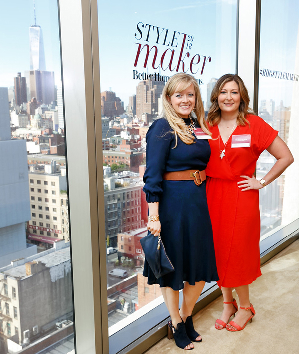 Angela Rathbun & Melissa George at BH&G Stylemaker Event