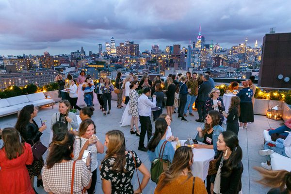 BHG Stylemaker 2018 Cocktail Party View from Public Hotel