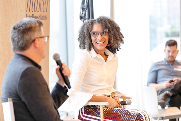 Stephen Orr & Carla Hall at BHG Stylemaker Event