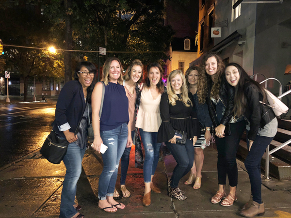 BHG Stylemaker Bloggers at Dinner in NYC