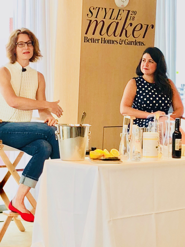 Marie Viljoen, author of Forage, Harvest, Feast, speaking at BH&G Stylemaker 2018