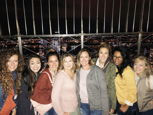 BH&G Stylemakers at the top of the Empire State Building