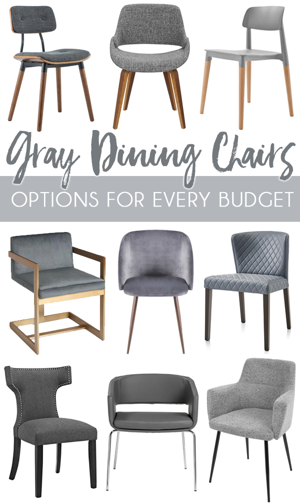 Modern Grey Dining Room Chairs