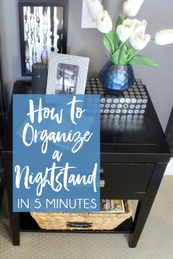 Tips for an Organized Nightstand