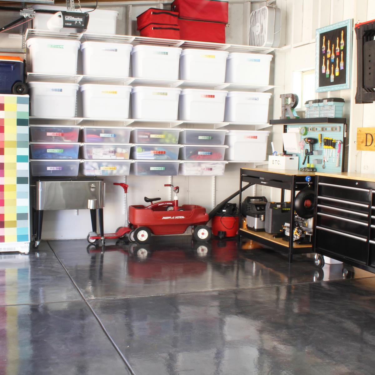 Garage Organization with Style