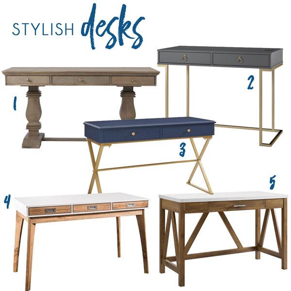 Modern Home Office Writing Desks
