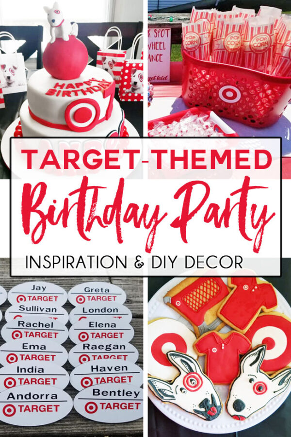 Target-themed party decor Target-themed party ideas