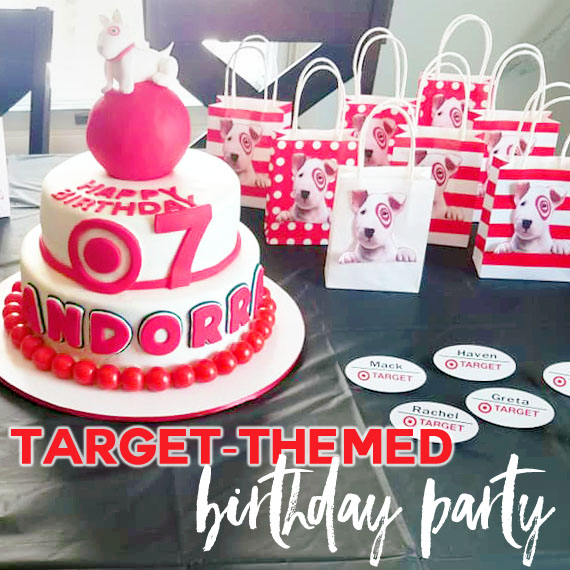 Peachy The Ultimate Target Themed Birthday Party Blue I Style Funny Birthday Cards Online Alyptdamsfinfo