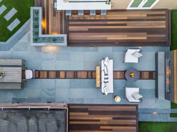 Modern Rooftop Deck Design Tips Inspiration Blue I Style