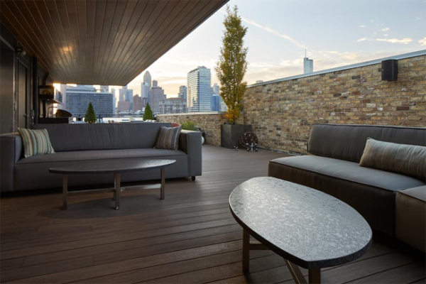 Entertaining tips modern rooftop deck