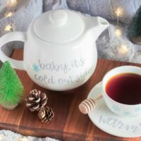 Baby, It's Cold Outside Teapot Set