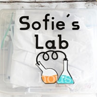 Personalized Chemistry Set for Kids