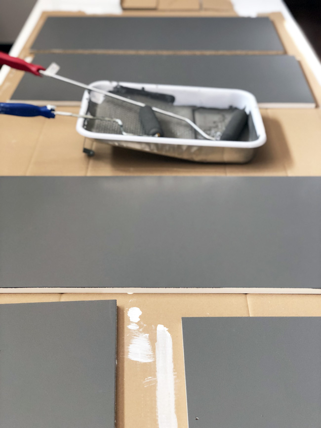 Painting Ikea Laminate Furniture