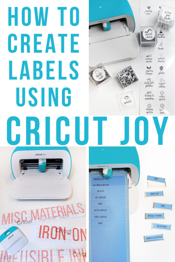 Three Ways to Create Labels Using Cricut Joy