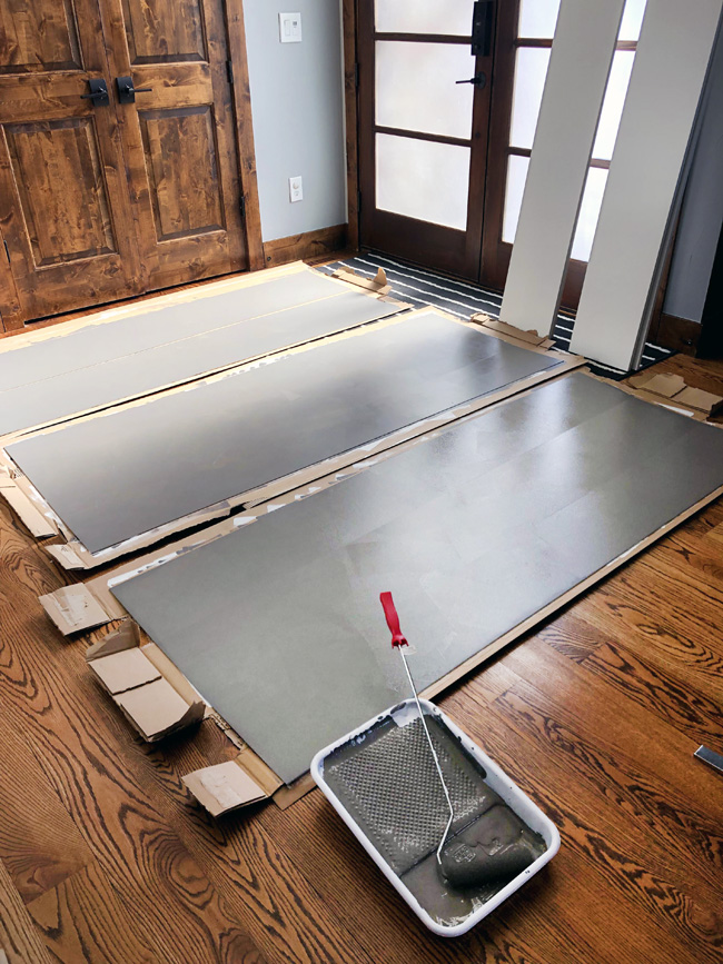 How to paint Ikea Laminate furniture the easy way