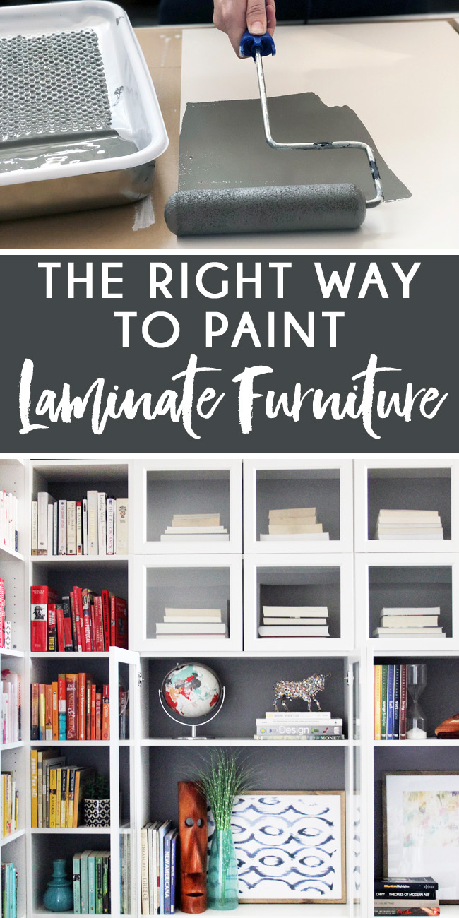 How To Paint Laminate Furniture The Right Way Blue I Style